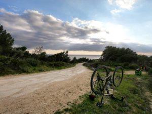 viaggio in bici gravel
