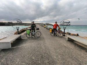 viaggio in bici gravel Tarifa