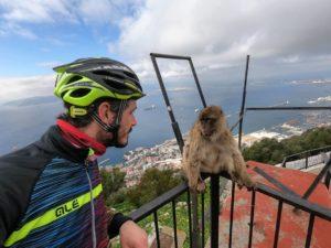 viaggio in bici Gibilterra