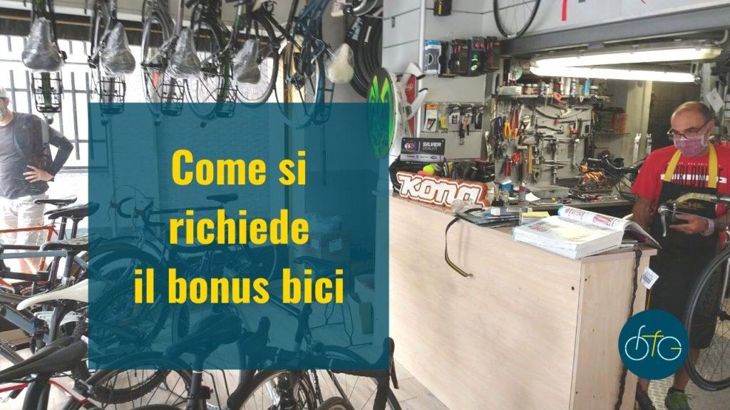 Negozio Le biciclette bonus bici