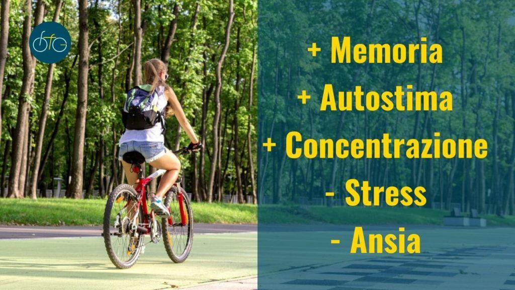 Benessere psicologico in bicicletta