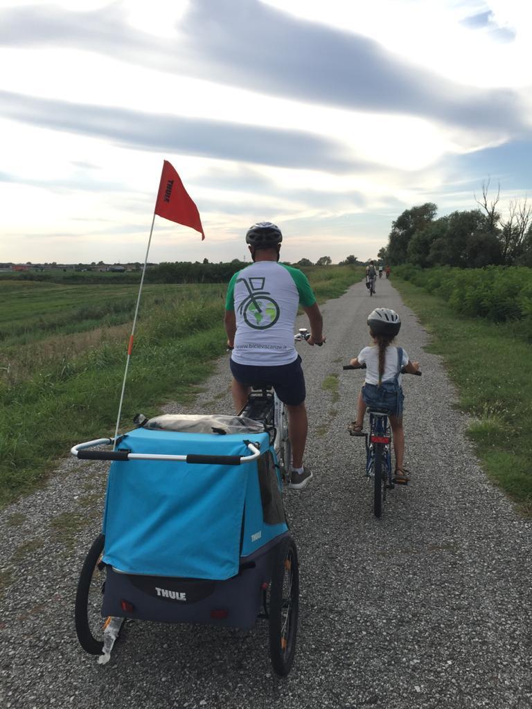 Vacanza in bici in famiglia