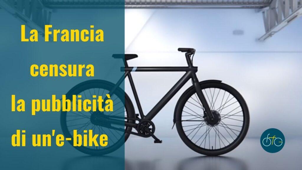 Pubblicità e-bike VanMoof censurata