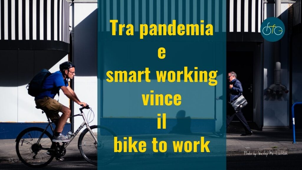 Bike to work a lavoro in bici
