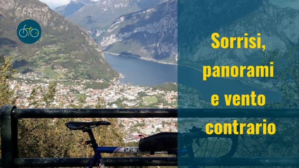 Panorama Monte Barro in bici Perondi