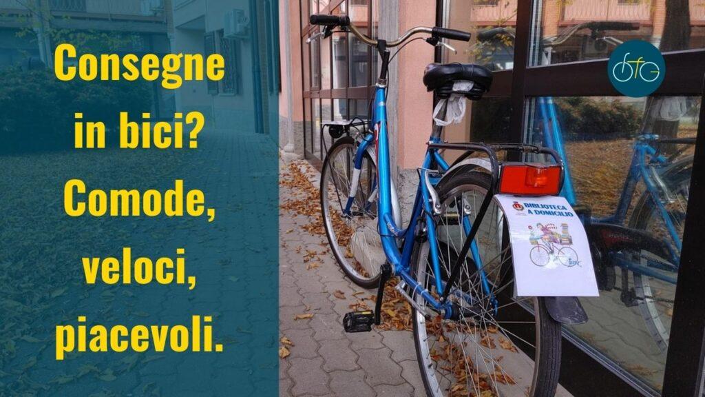 Consegne a domicilio in bici