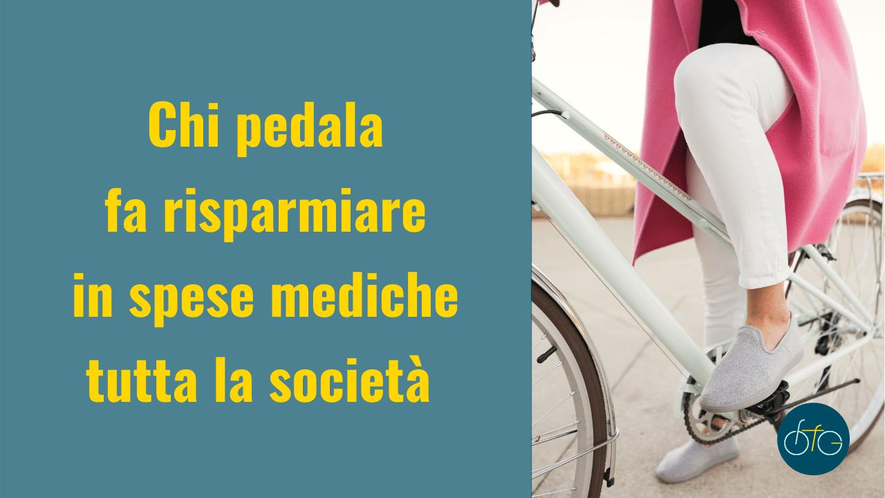 La bici fa risparmiare