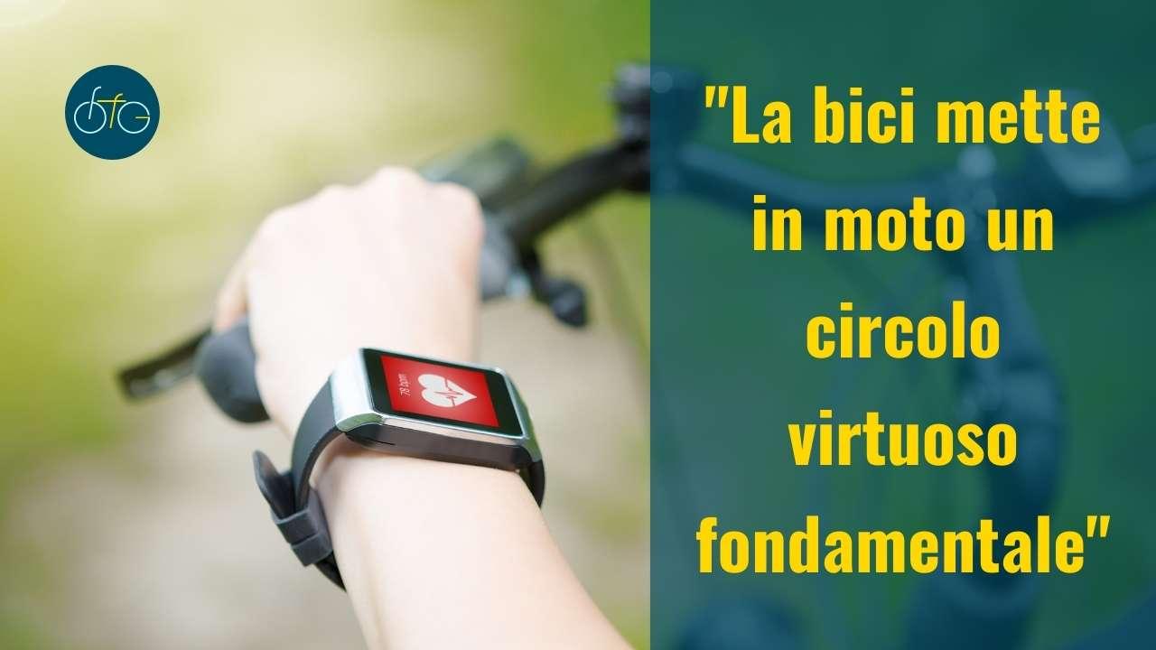 La bici fa bene al cuore
