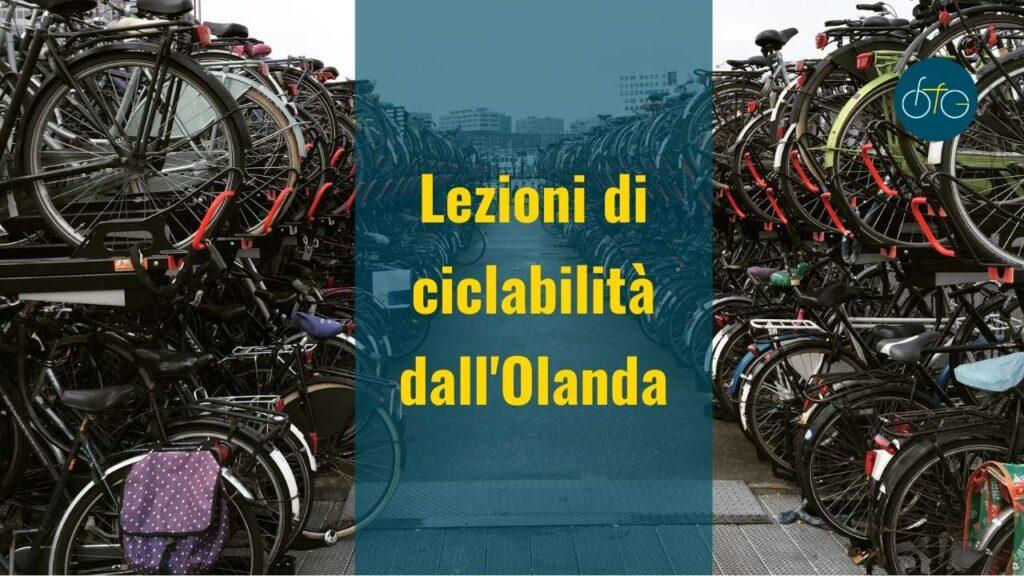 Cultura della bici in Italia: impariamo dall'Olanda