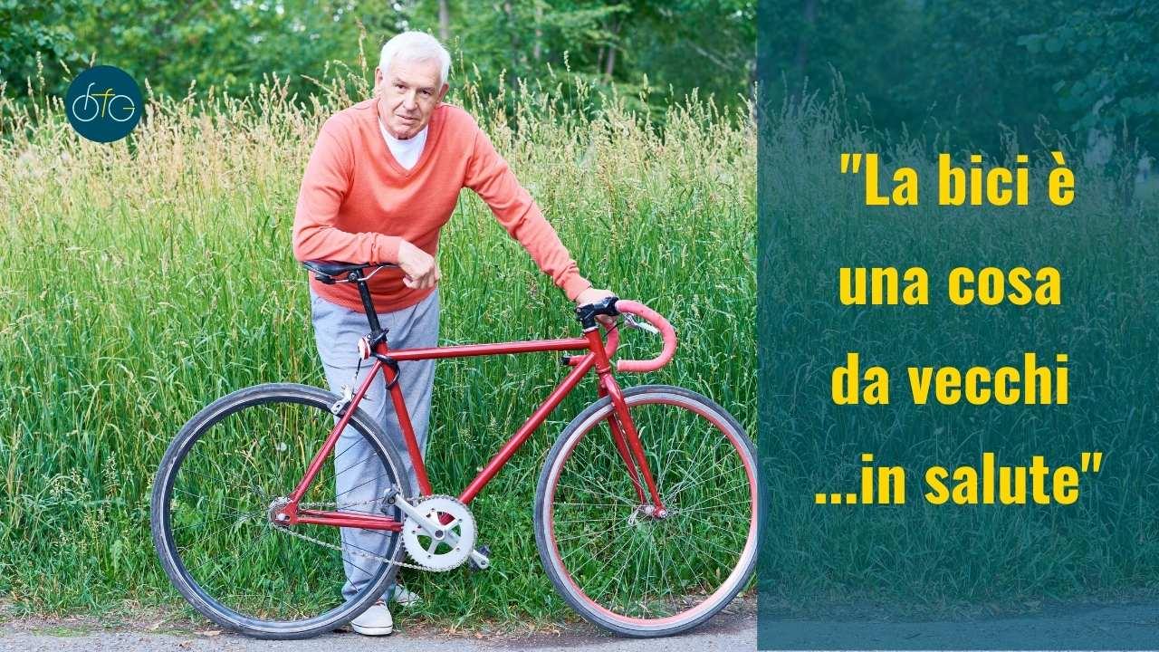 Invecchiare in salute con la bici