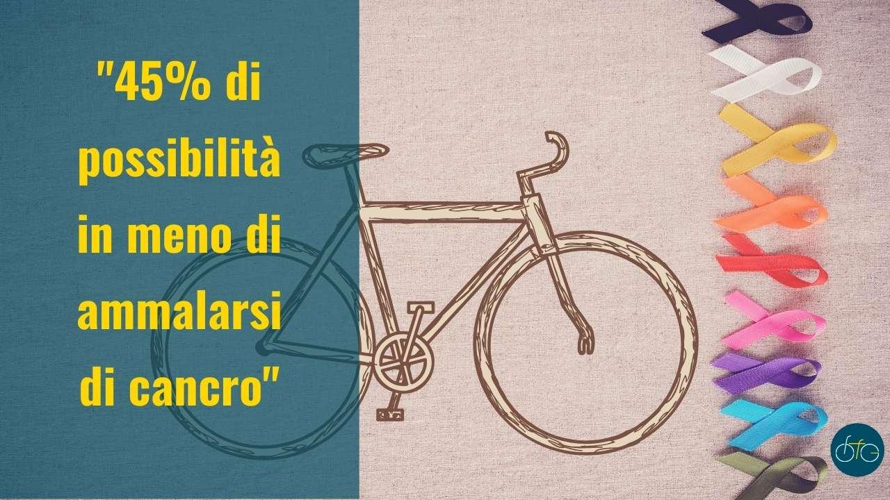 La bici contro i tumori