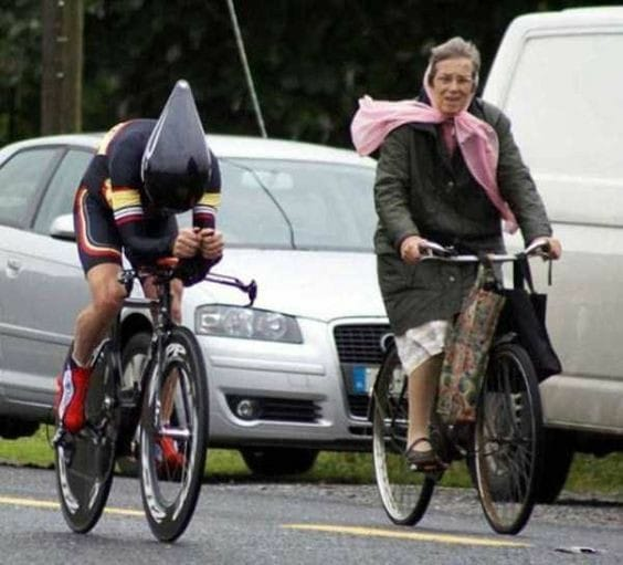 Ciclisti lenti e ciclisti veloci