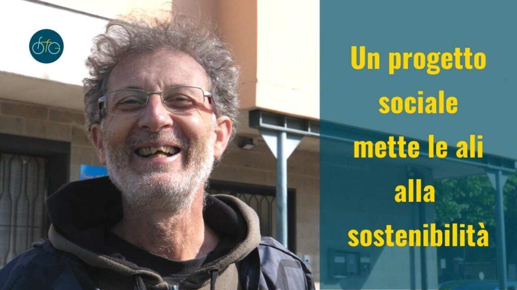 Roberto Guzzi Il Germoglio presenta la ciclofficina volante disabili