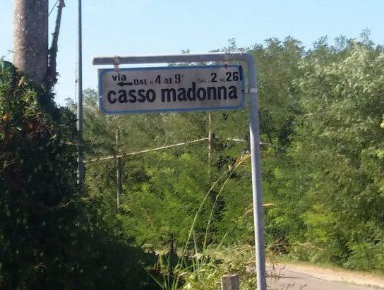 Via Casso Madonna