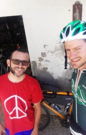 Davide con Mirko Fusignano