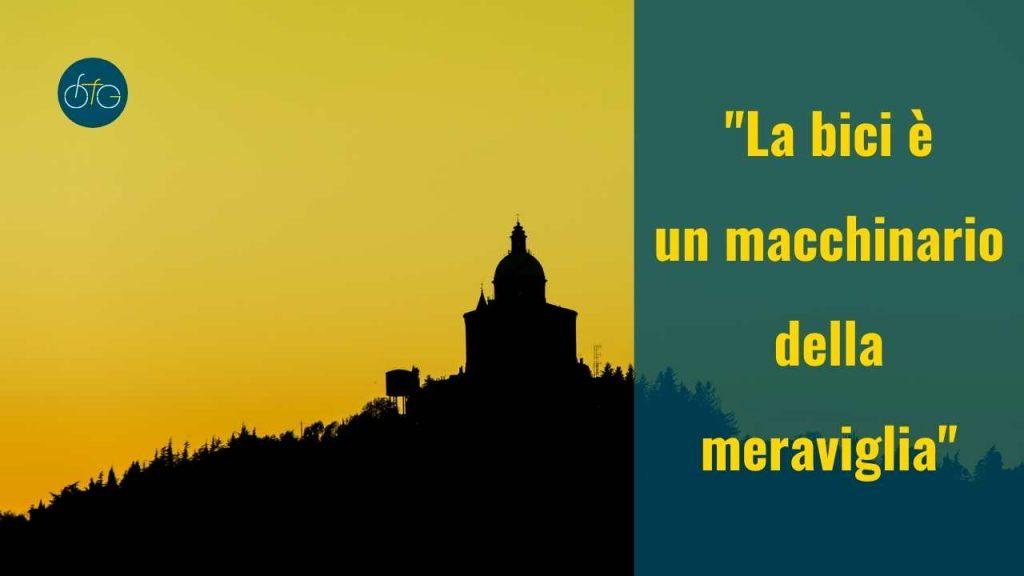 Bologna magica: Santuario di San Luca al tramonto