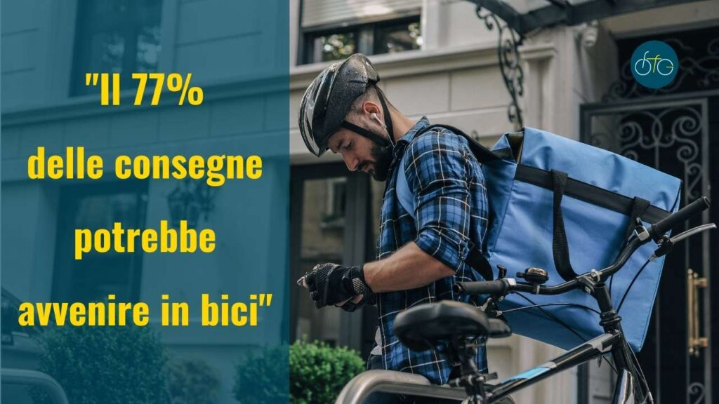 consegne in bicicletta e ciclologistica